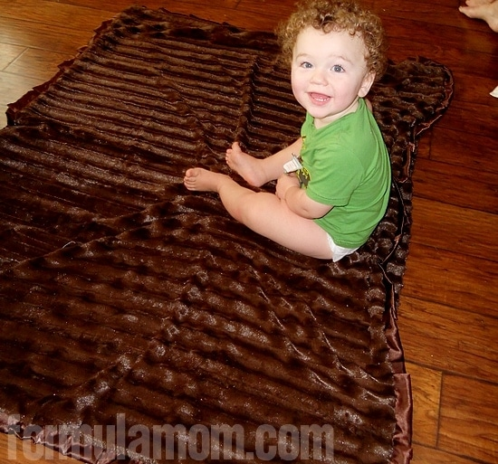 Minky Couture blankets