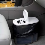 Organization Tips for Moms: Car Trash Can