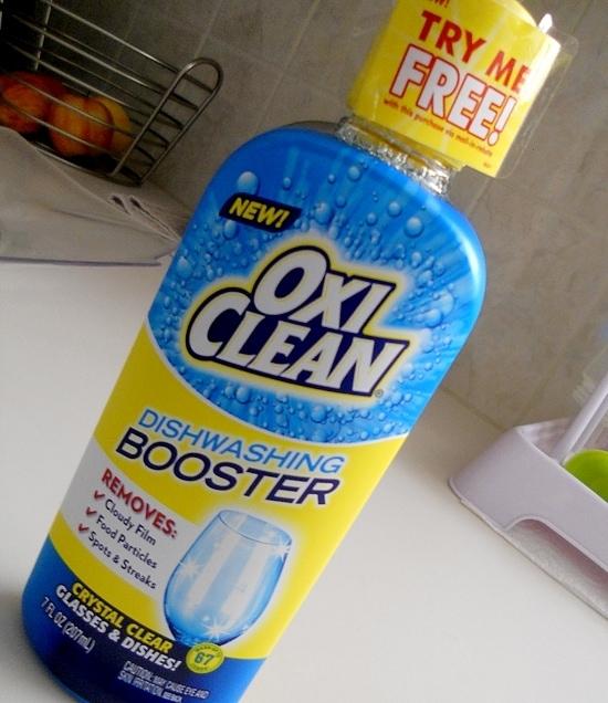 OxiClean Dishwashing Booster