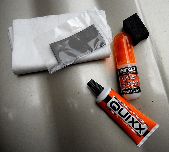 For the Dad who loves hi car: Quixx Headlight Restoration Kit
