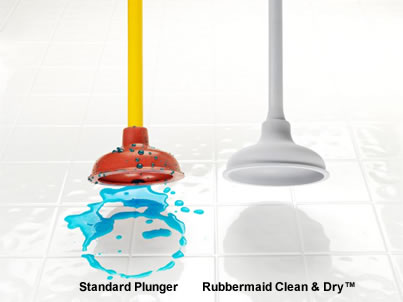 Rubbermaid Clean & Dry Plunger