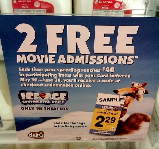 #JuneDairyMovies at Safeway