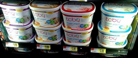 #TCBYGrocery frozen yogurt