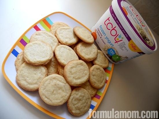 TCBY Frozen yogurt is a tasty summer treat