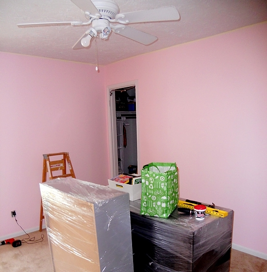 DIY Boy Bedroom Makeover Before