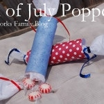 4th of July Crafts: DIY Poppers #4thofJuly