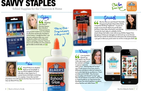 Back to School Shopping Guide Elmer's
