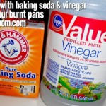 Cleaning with Baking Soda & Vinegar Saved My Burnt Pots (Mom Made Easy)