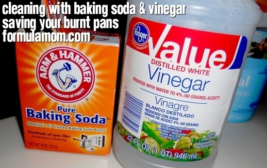 Cleaning With Baking Soda Amp Vinegar Saved My Burnt Pots