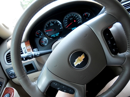 Chevy Tahoe Steering Wheel