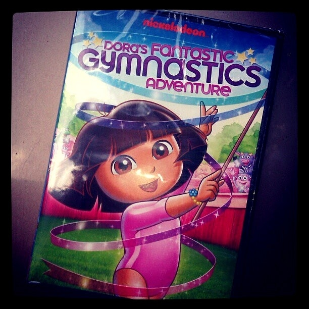 Dora the Explorer DVD: Dora's Fantastic Gymnastics Adventure