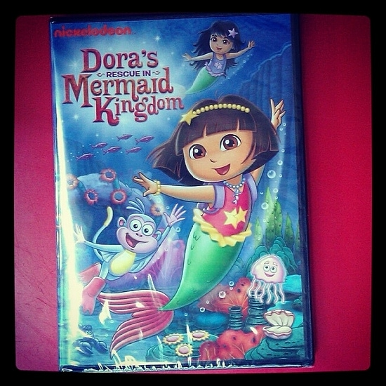 Dora the Explorer DVD: Dora's Rescue in Mermaid Kingdom