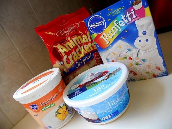 No Guilt Funfetti Cake Dip