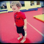 Wordless Wednesday: Future Gymnast