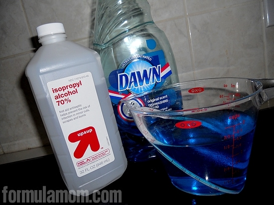 DIY Homemade Ice Pack Dawn Dishwashing Soap