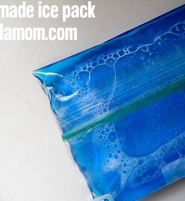 Cheap DIY Homemade Ice Pack