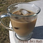 Peppermint Vanilla Iced Coffee Recipe (Tasty Tuesday)