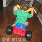 Original Big Wheel Sends Another Child Racing (Jakks Pacific Review) #noisegirls