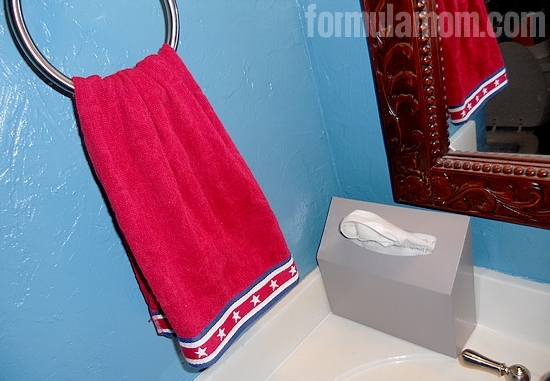 Kleenex Hand Towels Bathroom Makeover
