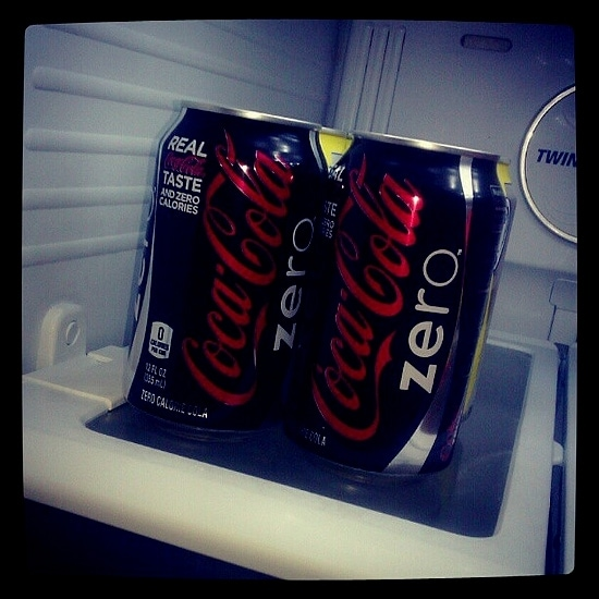Favorite Fridge Foods: Coke Zero