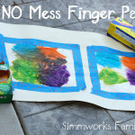 DIY No Mess Finger Paint Craft