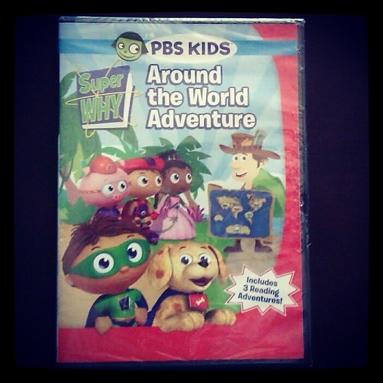 Super Why DVD: Around the World Adventure