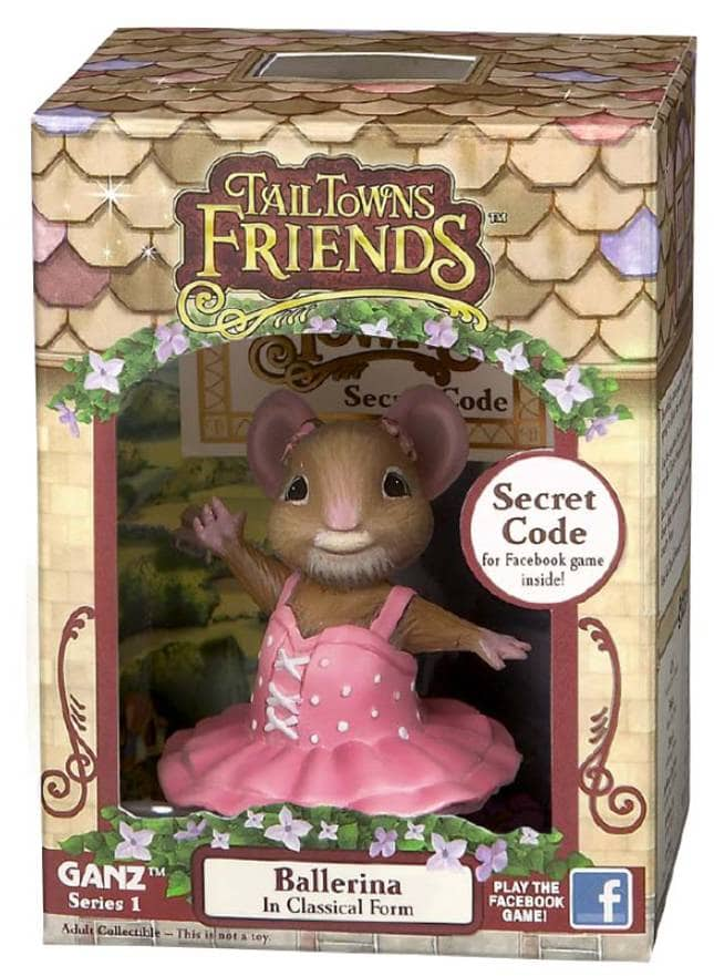 Tail Towns Friends Figurine