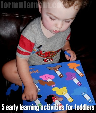 Early Learning Activities for Toddlers