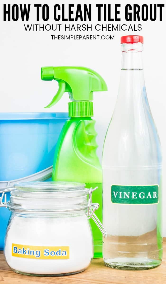 5 Easy Steps How To Clean Grout With Vinegar And Baking