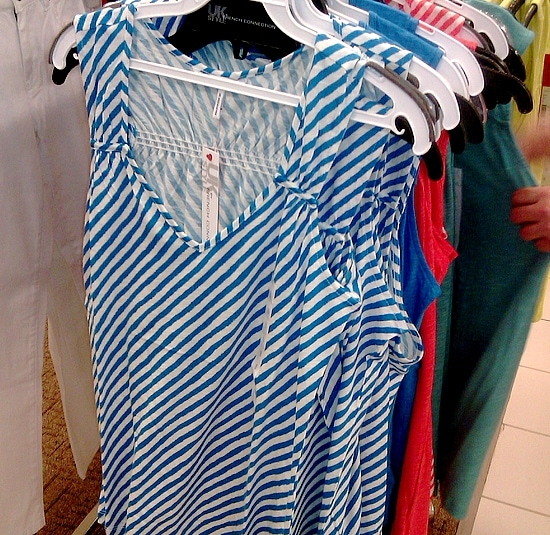 Stripes at Sears
