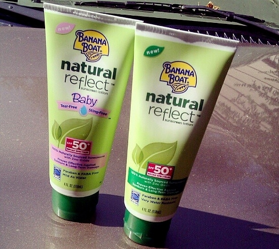 Sun Safety with Banana Boat Natural Reflect