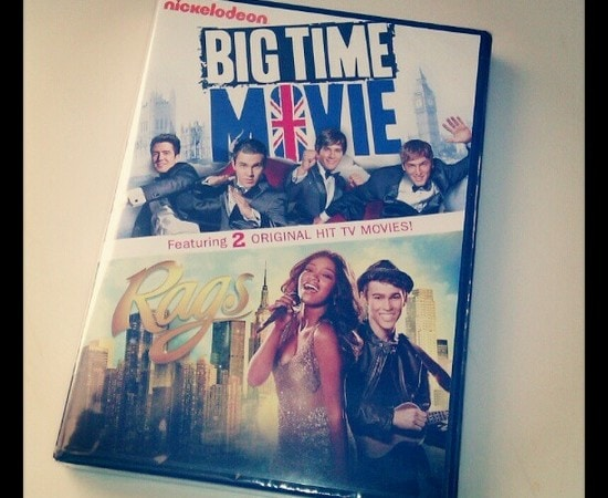 Big Time Movie and Rags DVD Review #ngfamily