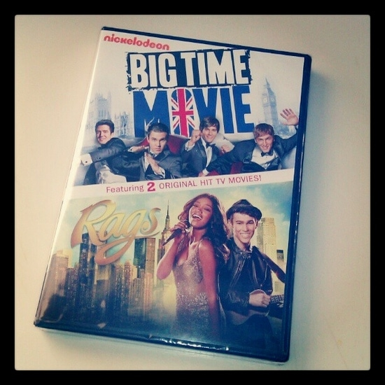 Big Time Movie DVD Review (& Rags Double Feature)