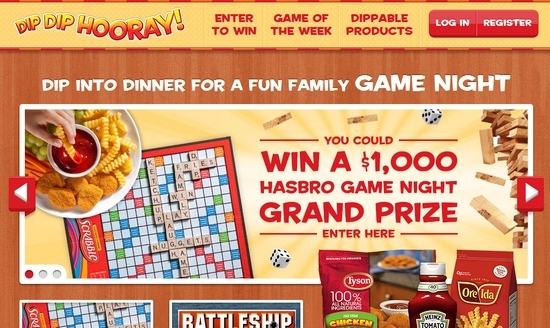 DipToPlay Sweepstakes