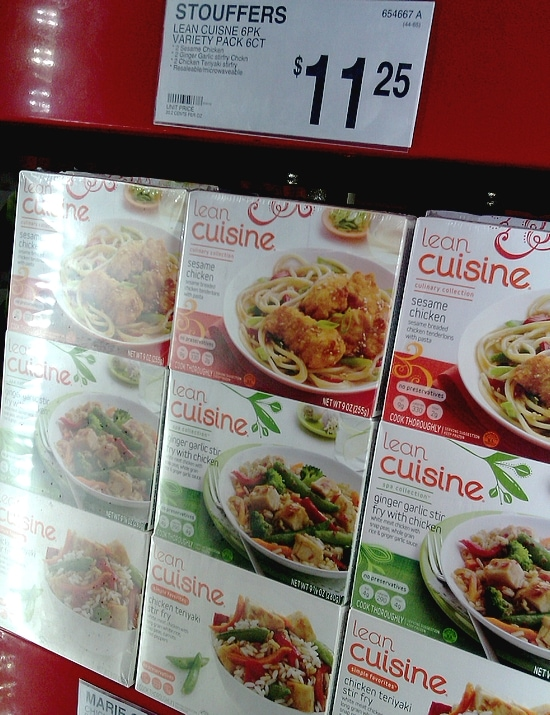 Lean Cuisine Asian Variety Pack at Sam's Club