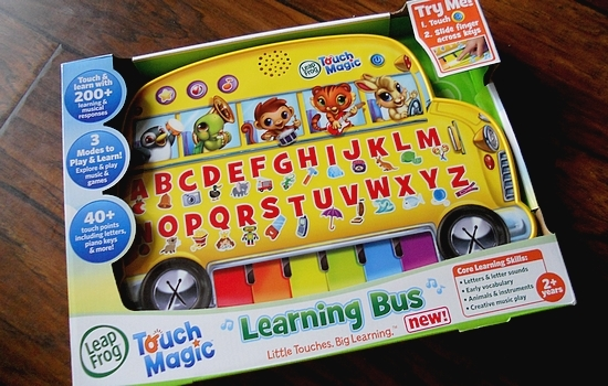 Back to School Activities: LeapFrog Learning Bus
