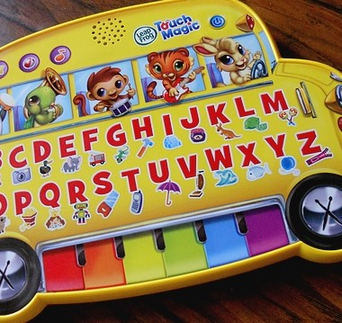 LeapFrog Touch Magic Learning Bus Keeps Toddlers Busy