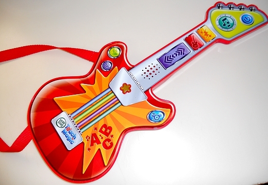 LeapFrog Touch Magic Rockin Guitar Makes Learning Fun