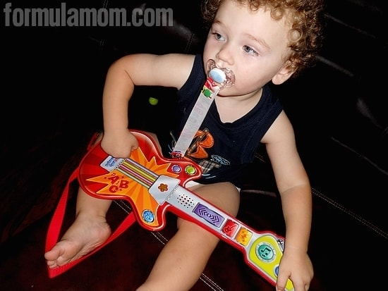 LeapFrog Touch Magic Rockin' Guitar is Toddler Approved!