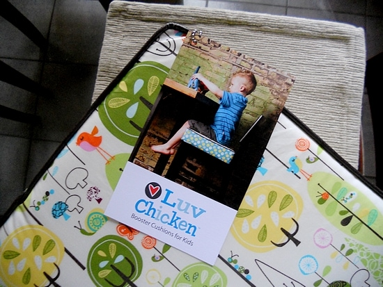 Luv Chicken Booster Cushion