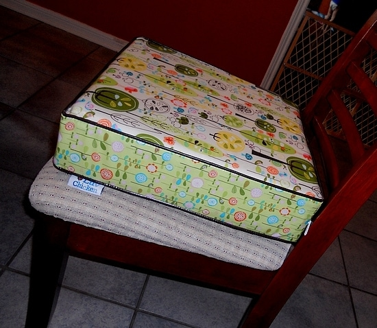 Easy to Clean Luv Chicken Booster Cushion