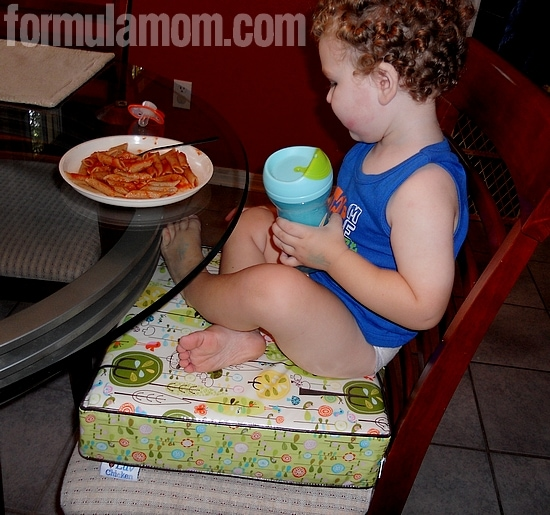 Toddler Gets a Boost with Luv Chicken