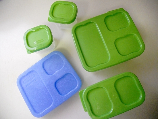 Eco-friendly Rubbermaid LunchBlox
