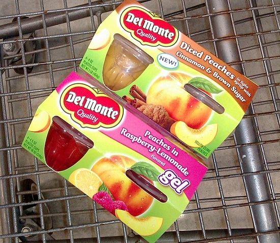 Dessert with Del Monte Fruit Cups