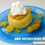 Affordable Family Fun: Easy Peach Shortcake