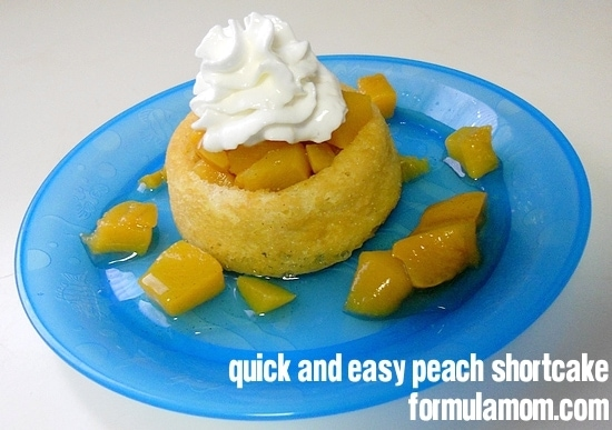 Affordable Family Fun: Easy Peach Shortcake
