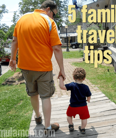 5 Family Travel Tips