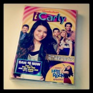iCarly season 4 DVD #ngfamily