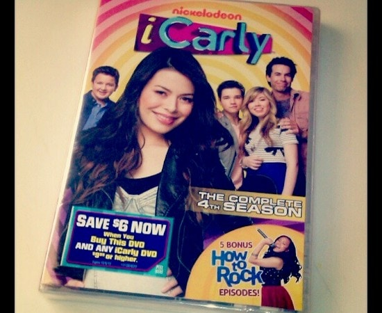 iCarly season 4 DVD #ngfamily