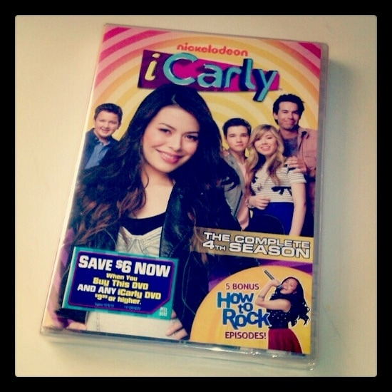 iCarly Season 4 DVD